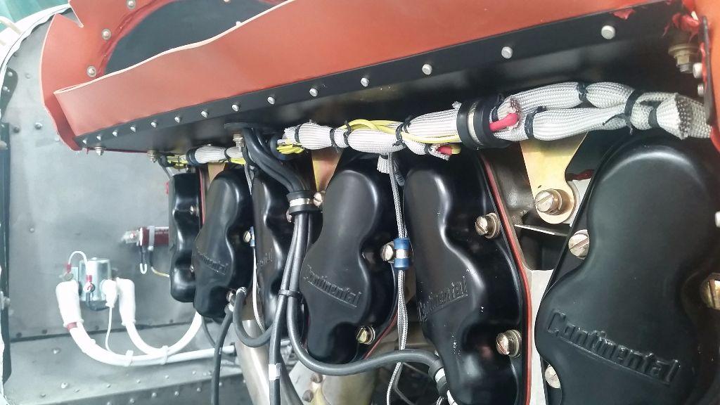 EGT CHT engine loom